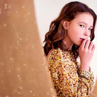 Buy Kid's Bling Online and Delight your children with SequinQueen's edited collection of kids' sequin clothing, shimmering shoes and bags, blinged-out toys and more