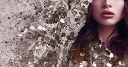 Sequin Dress on Model