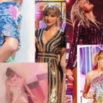 Taylor Swift Wearing Sequins