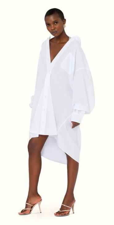 Fenty fashion oversize shirt dress