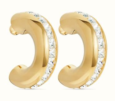 Fenty's oversized earrings