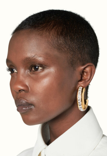 Fenty jewelry oversized earrings