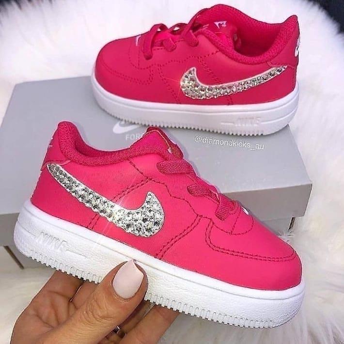 Bling Shoes Nike for Girls.