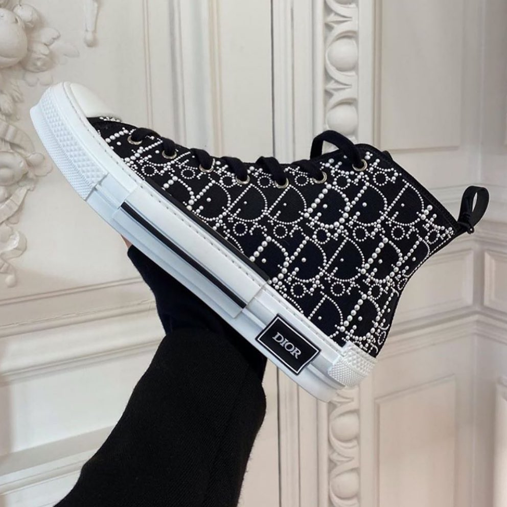 Dior Women's Shoes for Walking in Black and White.