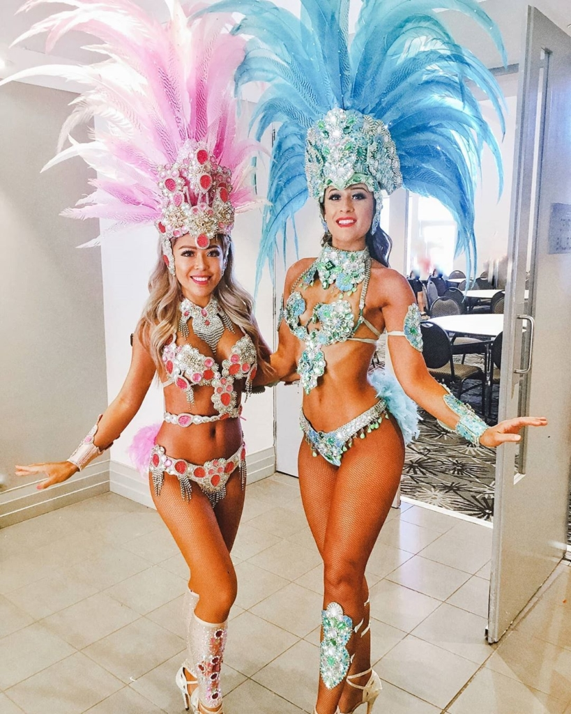 Women's 2 Piece Bikini Set with Sequins and Beads