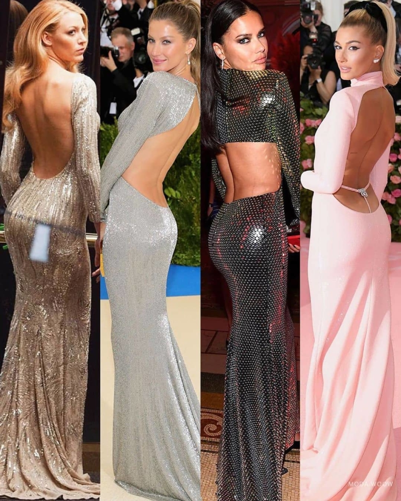 The Best Bling Online. Long Glittering Backless Full Sleeves Evening Gowns.