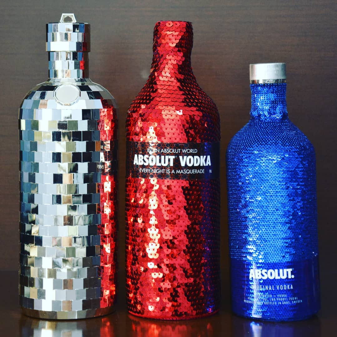 Bling ALCOHOL. Because Sequins and Drinking DO Mix