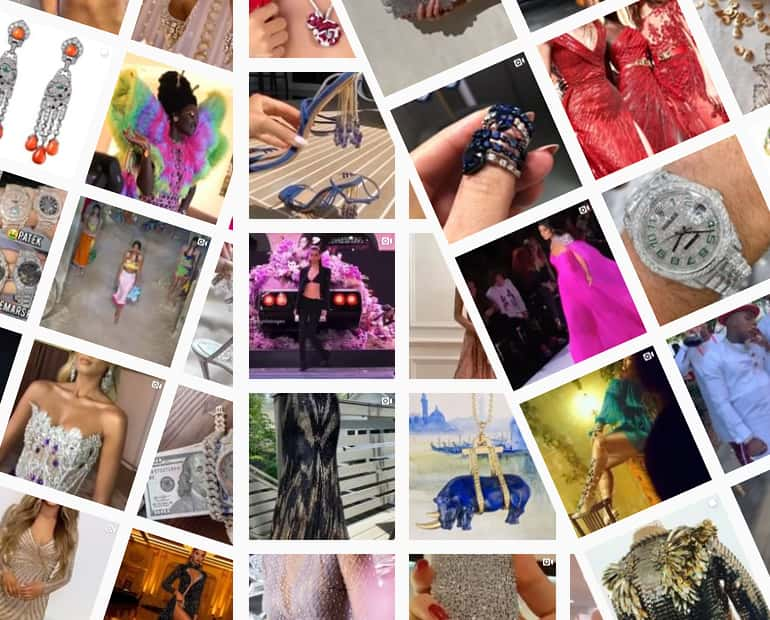See All of SequinQueen's Amazing Curated Bling on Instagram with new posts every day