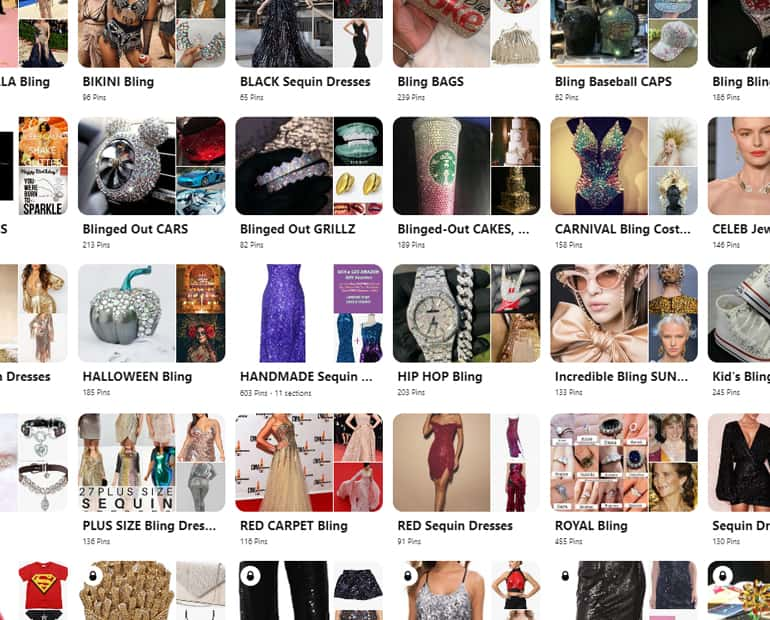Browse all of SequinQueen's Sparkly Bling Fashion, Makeup, Hair and Accessory Boards on on Pinterest