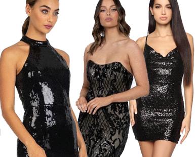Black Sequin Dresses: 25 Elegant Choices for Your Next Wardrobe Staple