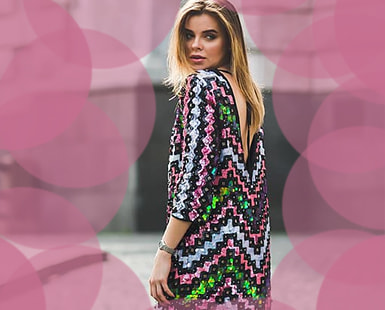 LONG SLEEVE Bling Dresses: 72 DIVINE Designs to SHOP on Amazon TODAY