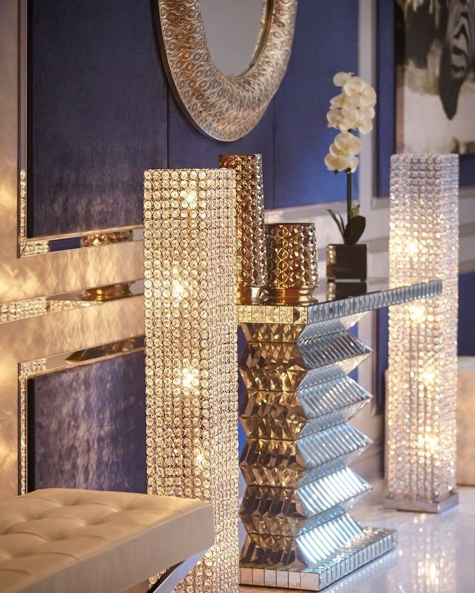 Bling for Your HOME Beautiful Home Decor Crystal Floor Lamps