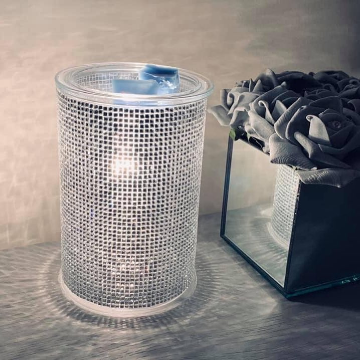 Home Bling Table Lamp with Rhinestones