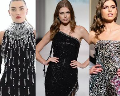 25 Best BLACK SEQUIN DRESS Videos on Instagram