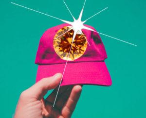 Shop Bling Baseball caps on Amazon via SequinQueen