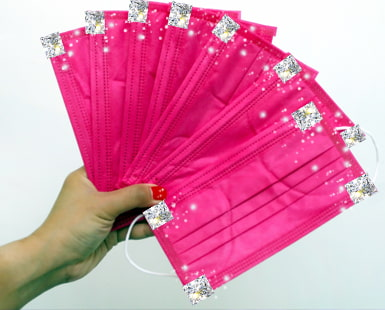 Bling FACE MASKS - Your MOST Glittering Way to Stay COVID-19 Safe