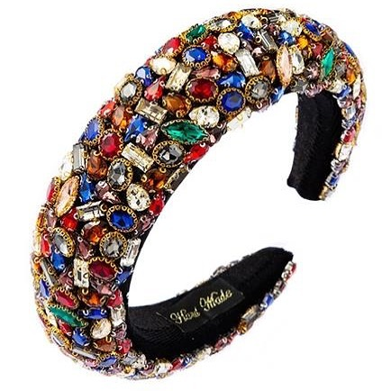 Full Swaroski Multi-Colour Crystal Headband