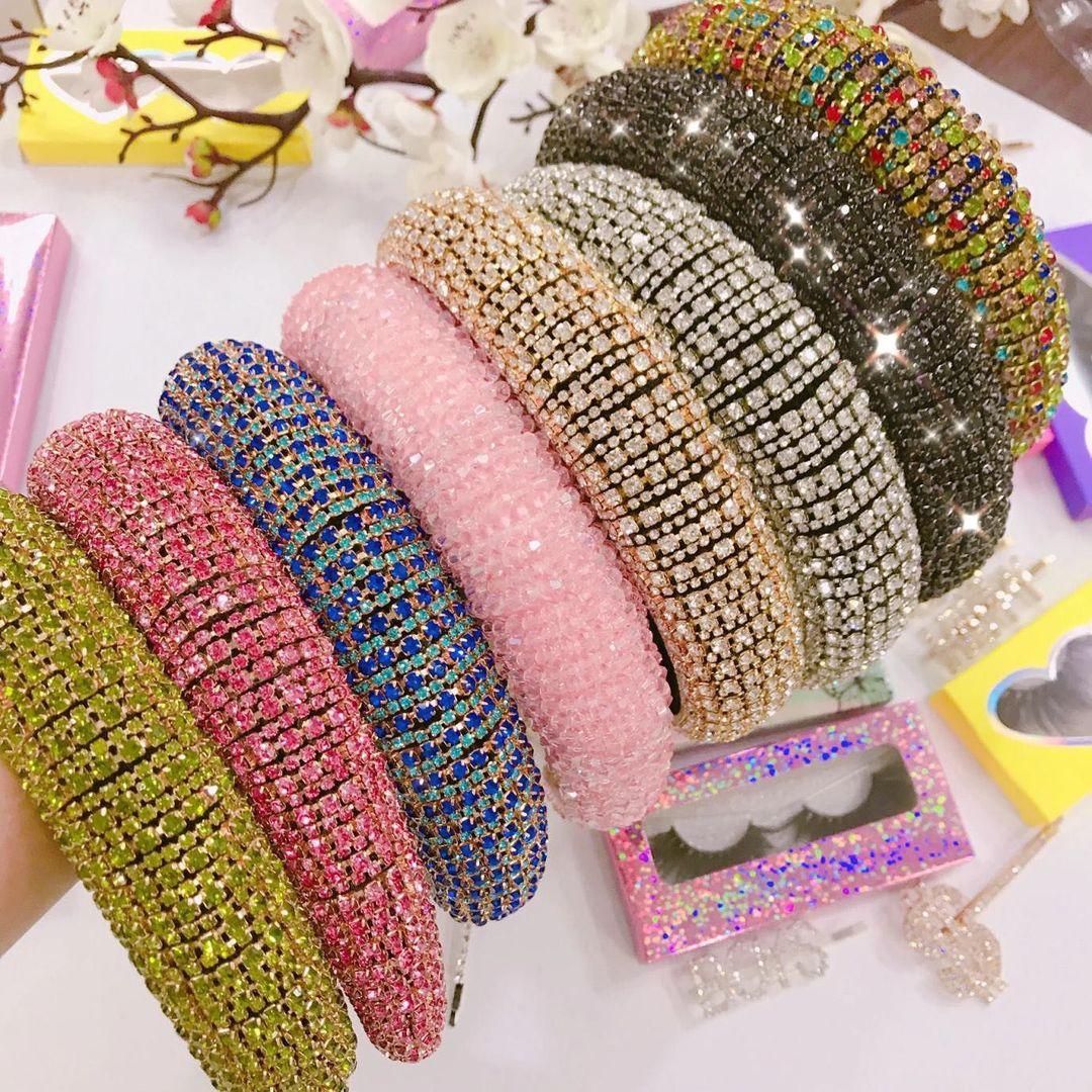 Bling Headbands with Glittering Rhinestones