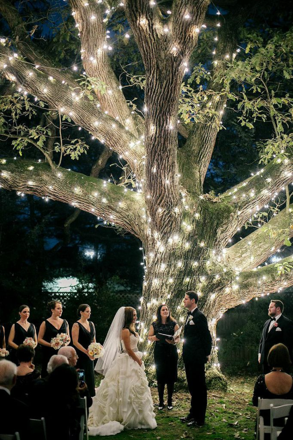 Bling wedding receptions Utterly Whimsical Night Under the Moon While You Exchange Your Vowes