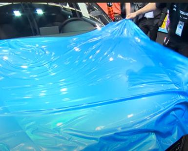 Sparkling Car Wraps at SequinQueen