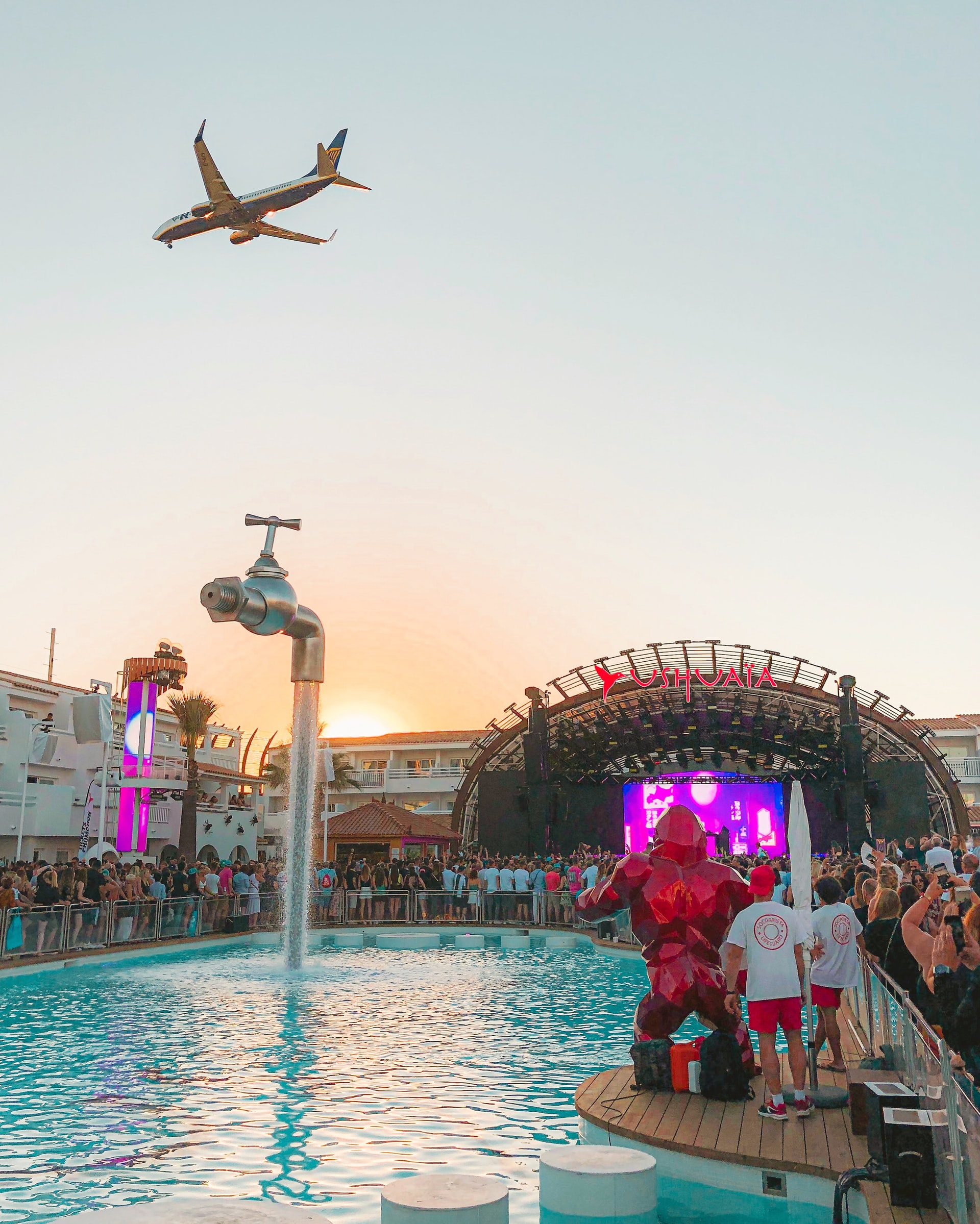 The stunning Mediterranean islands Party on as the sun rises in Ibiza