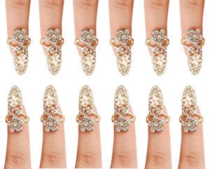 Bling Nail rings