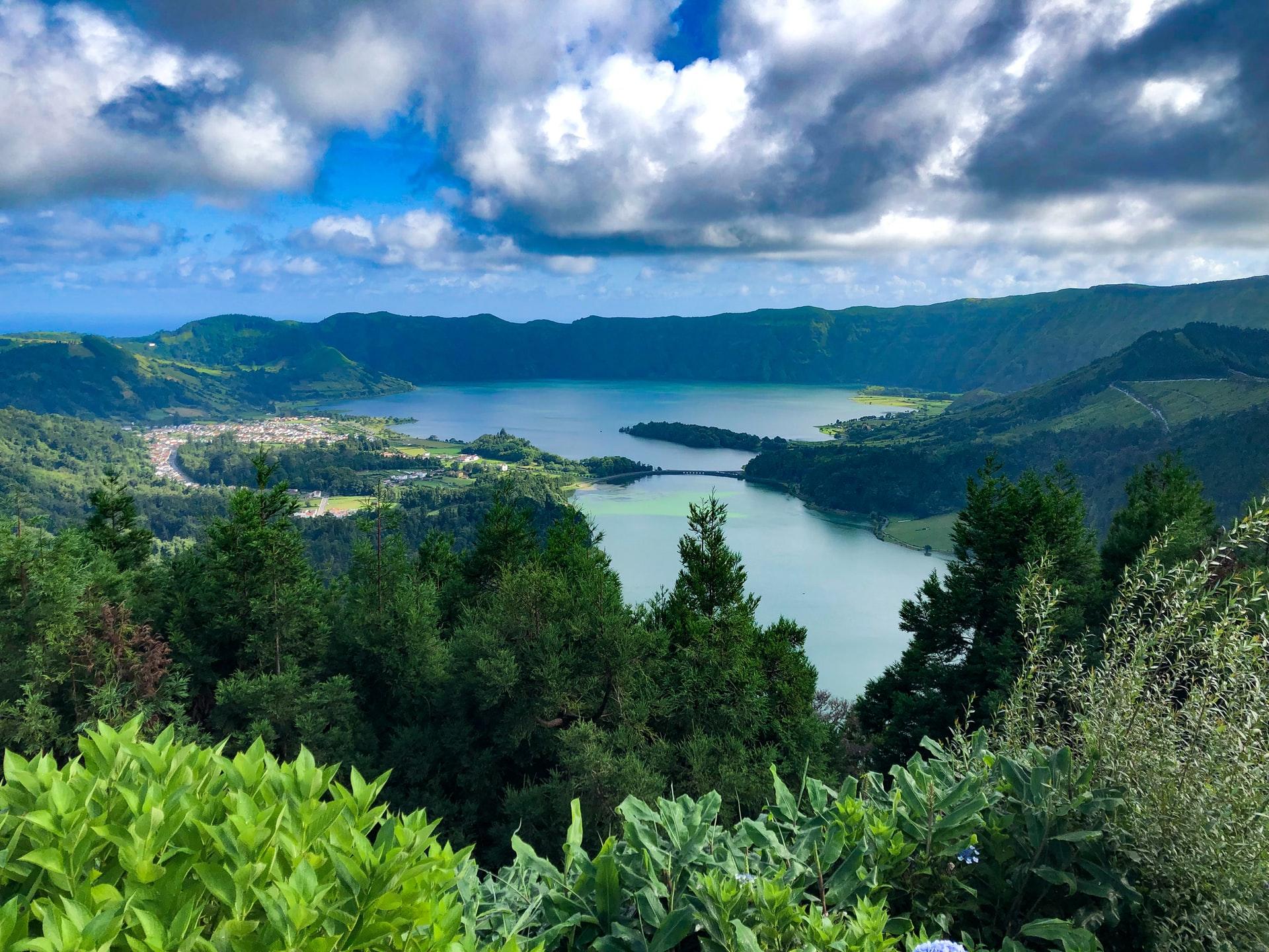 The Glittering Atlantic Islands Hike around Sete Cidades near the Azores Capital of Ponta Delgada