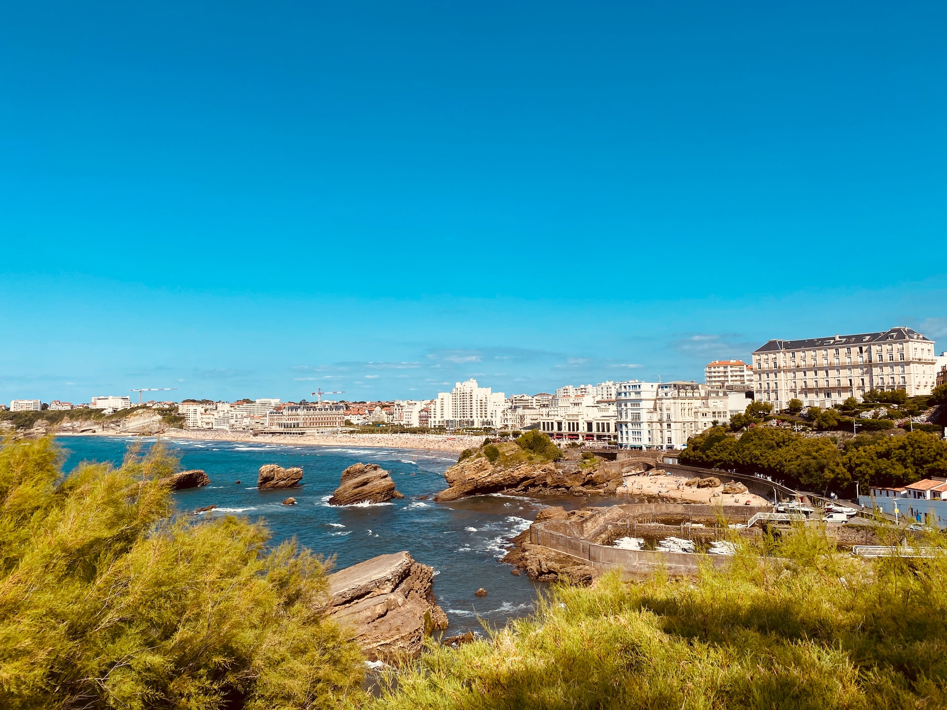 The Shimmering ATLANTIC COASTLINE SequinQueen's Pick for French Beaches is Biarritz