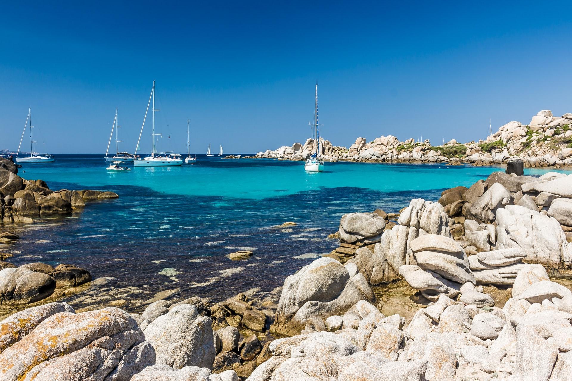 The stunning Mediterranean islands The Lavezzi Islands off Corsica are a sailor's delight