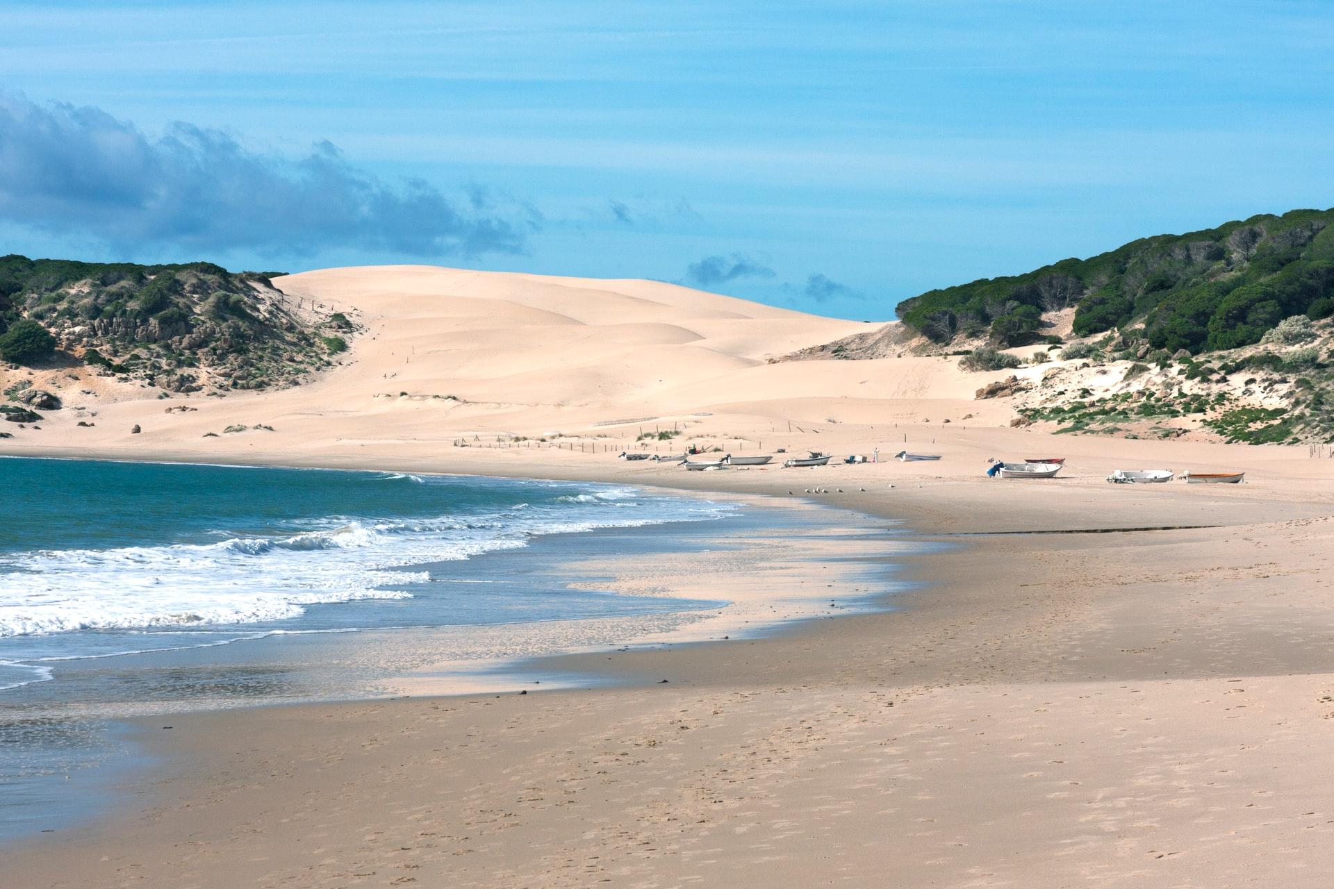 The Shimmering ATLANTIC COASTLINE Mountainous dunes and pristine protected coastline at Bolonia