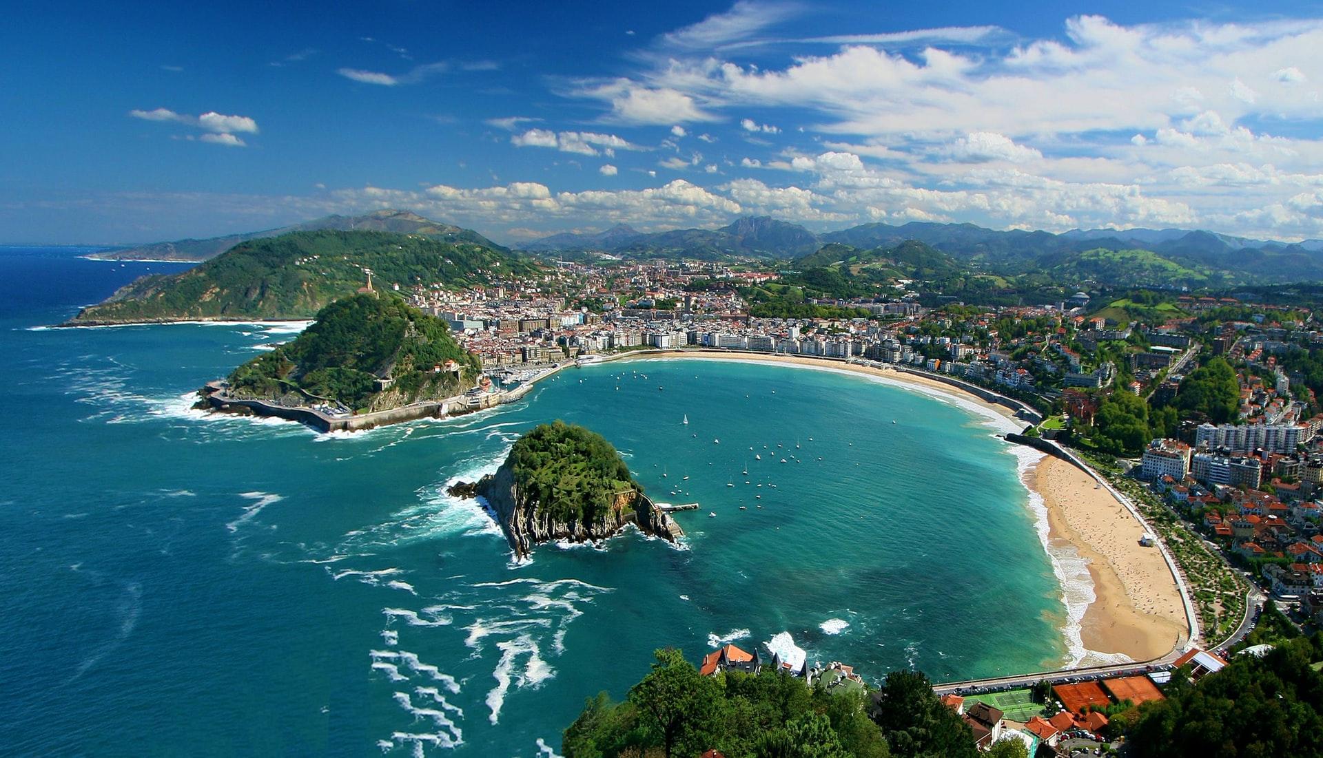 The Shimmering ATLANTIC COASTLINE Beaches and pintxos await in San Sebastian