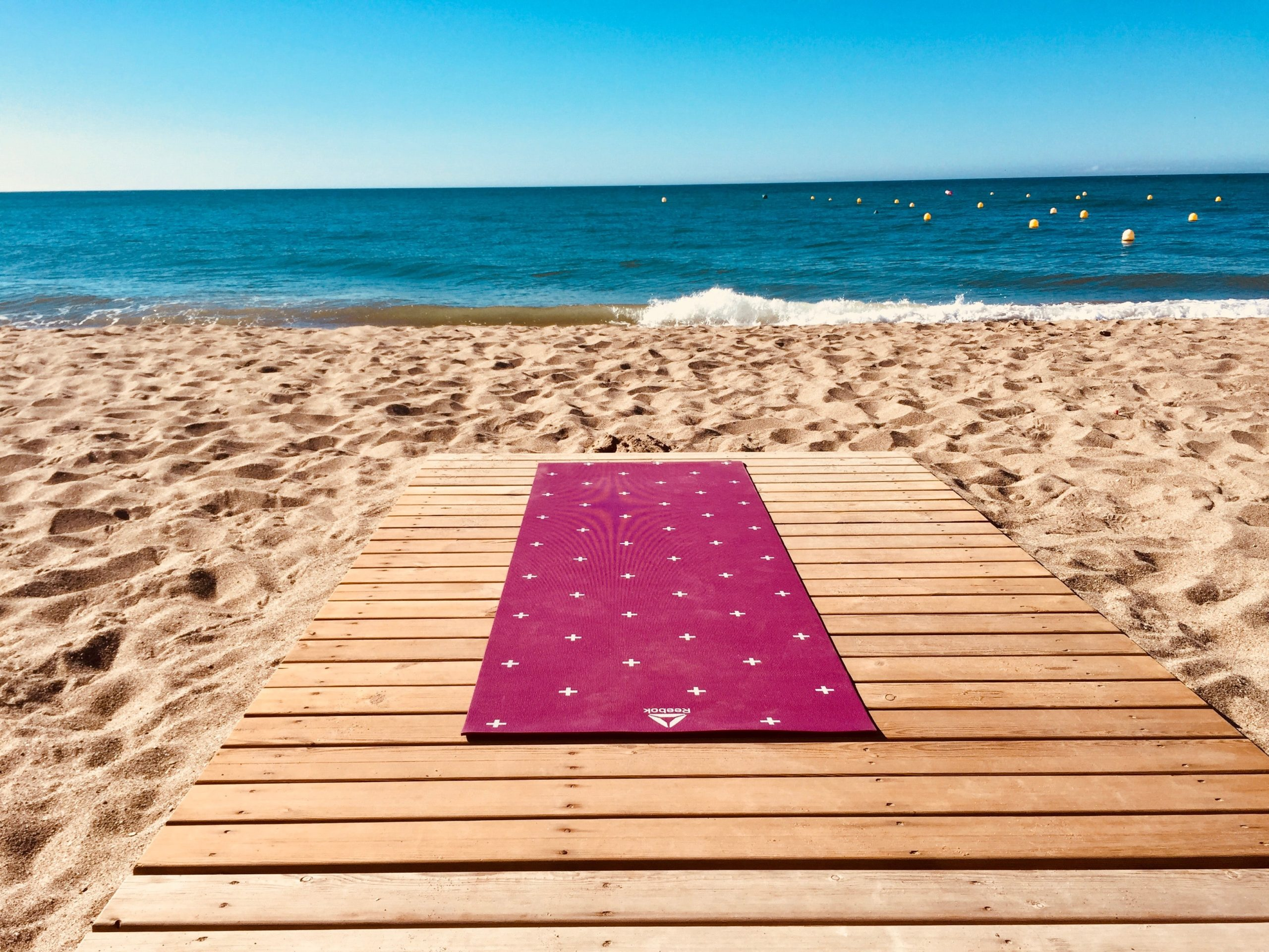 Sparkling European holidays Bend your troubles away with a beachside yoga sesh on the Costa del Sol in Spain.
