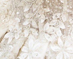 Wedding dress bling
