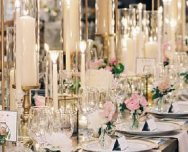 Bling WEDDING RECEPTIONS: 25 Perfect IDEAS for YOUR Special Day