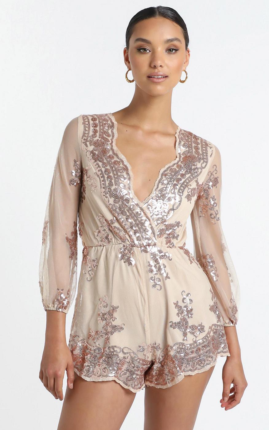 Gold sequin dresses