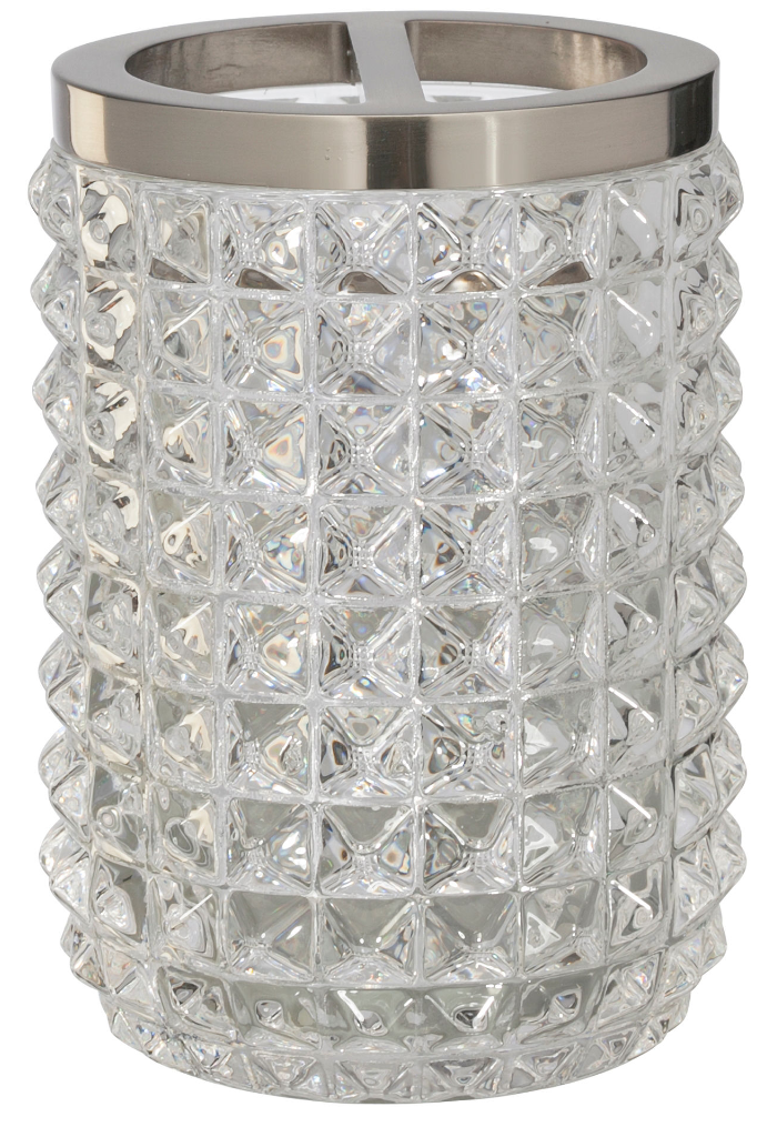 Bling for your bathroom Crystal Glittering Toothbrush Holder
