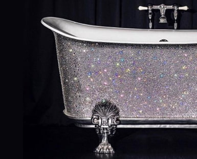 Bling for Your BATHROOM: AMAZING Looks to Try TODAY