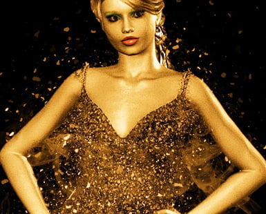 GOLD SEQUIN Dresses: CLASSIC Bling for ANY Wardrobe