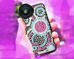 Phone bling on sequinqueen