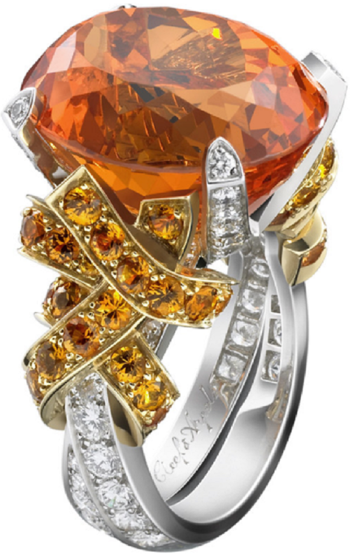 Best massive bling rings 2021 Pumpkin Cut Diamond with Clear Diamonds Around The Band Ring