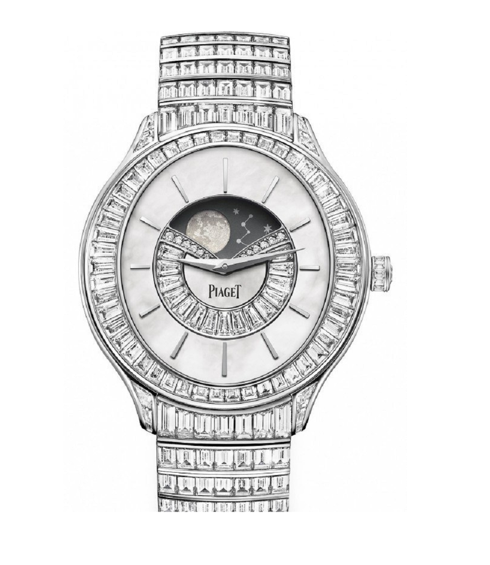 Piaget Limelight Stella Astronomical Moon Phase with 42 Carats Of Diamonds