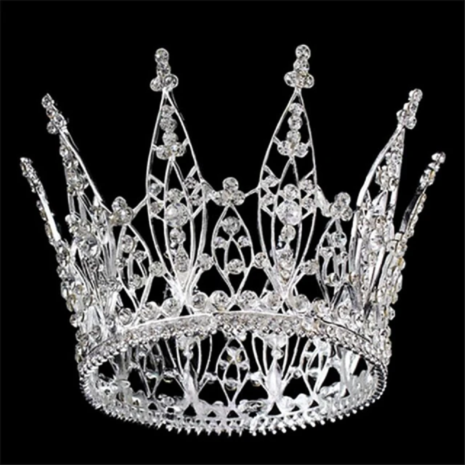Best Tiara Bling Online: Alloy Tiaras with Crystal Daily Wear Headpiece