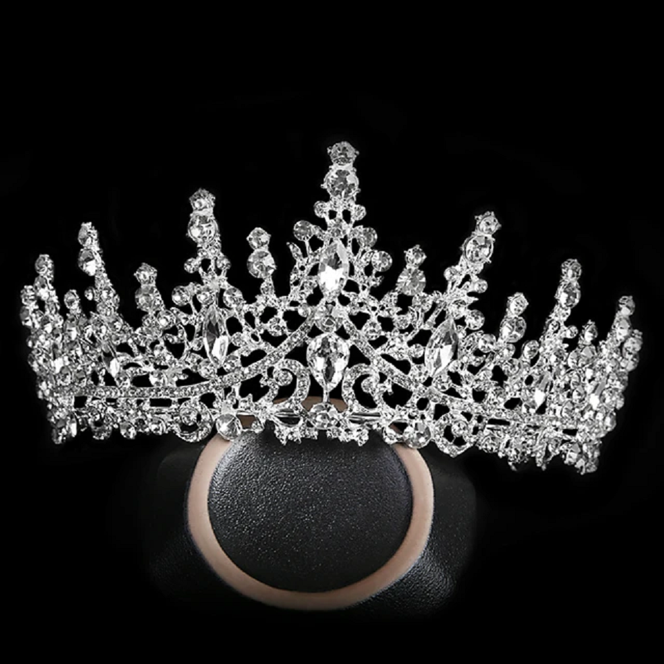 Best Tiara Bling Online: Alloy Tiaras with Metal Frame with Crystals and Rhinestones